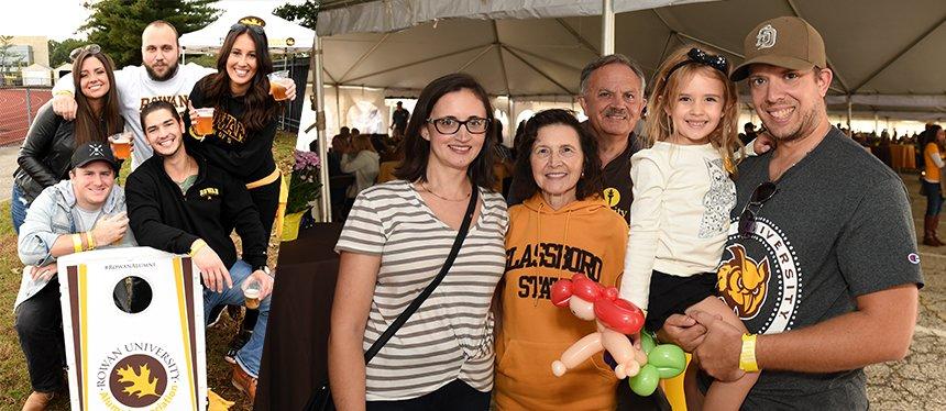 Saturday Homecoming Rowan University