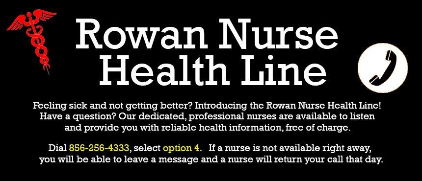 Student Health Services Wellness Center Rowan University